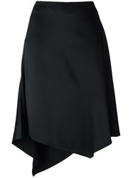 Paco Rabanne Pointy Mid Skirt Black