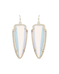 Kendra Scott Skylar Iridescent Crystal Earrings Trnslcnt I