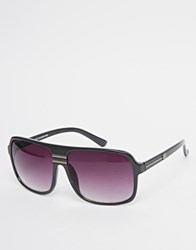 New Look Flattop Grandmaster Sunglasses Metal