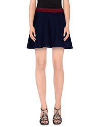 Cutie Skirts Mini Skirts Women Dark Blue