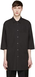 Stephan Schneider Black Chevron Shirt