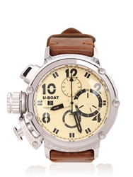 U Boat Chimera Carbon 5 Watch White Beige