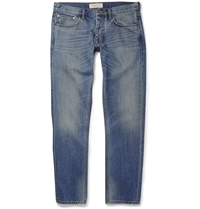 Marc By Marc Jacobs Straight Leg Denim Jeans Blue