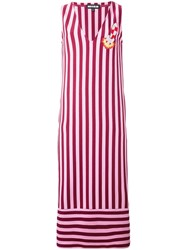 House Of Holland 'Breton' Dress Pink And Purple