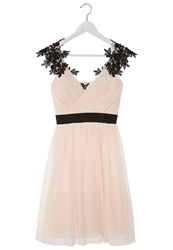 Little Mistress Cocktail Dress Party Dress Nude Black