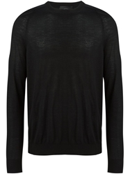 Jupiter Crew Neck Sweater Black