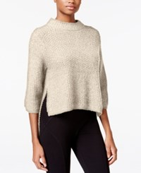Rachel Roy High Low Sweater Ivory