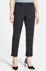 Women's Nordstrom Collection 'Veloria' Slim Ankle Pants Black