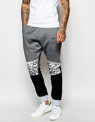 Hype Joggers With Panelling Grey