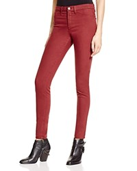 Flying Monkey High Rise Skinny Jeans In Berry