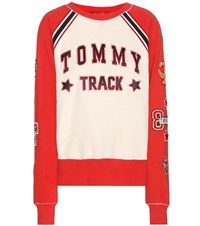 Tommy Hilfiger Cotton Sweater With Applique White