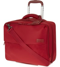 Lipault Plume Business Rolling Tote Ruby