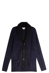 Paul And Joe Chunky Cardigan Navy