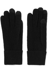 Marc By Marc Jacobs Lucy Merino Wool Gloves Black