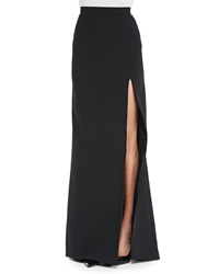 J. Mendel Long Skirt With High Slit Noir