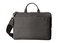Jack Spade Slim Supply Brief Grey Briefcase Bags Gray