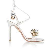 Aquazzura Women's Disco Thing Sandals Silver