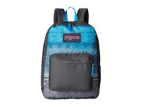 Jansport Digibreak Blue Digi Stripe Fade Backpack Bags