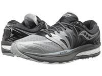 Saucony Hurricane Iso 2 Grey White Women's Shoes Gray