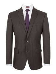 Pierre Cardin Stripe Regular Fit Jacket Grey