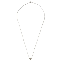 Cabinet Sterling Silver Heart Hayseed Necklace