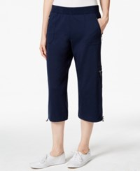 Styleandco. Style And Co. Sport Petite Bungee Hem Capri Pants Only At Macy's