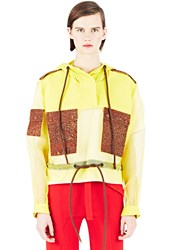 Bobby Kolade Organza Sleeved Jacket Yellow