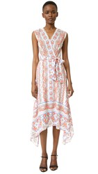 Shoshanna Catrina Dress Persimmon Multi