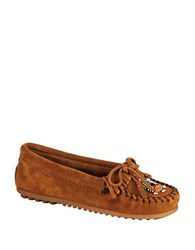 Minnetonka Me To We Moccasins Brown