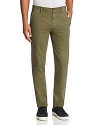 Boss Orange Schino Tapered Slim Fit Pants Olive