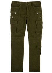 Polo Ralph Lauren Army Green Multi Pocket Cargo Trousers Khaki