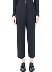 Agnona Straight Leg Pants Black
