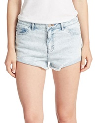 Dittos Cutoff Denim Shorts Blue