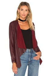 Bb Dakota Derby Jacket Burgundy