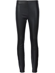 Rag And Bone Panelled Leggings Black