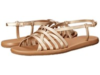 Freewaters Hurrachay Champagne Women's Shoes Gold