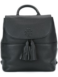 Tory Burch Tassel Detail Backpack Black