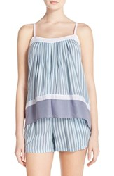 Women's Dkny Print Camisole Spa Stripe