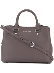 Michael Michael Kors Double Handle Tote Brown