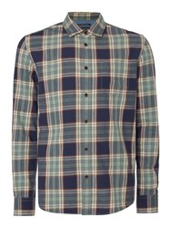 Criminal Fergus Multi Check Long Sleeve Shirt Multi Coloured