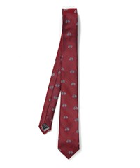 Simon Carter Bicycle Patterned Tie