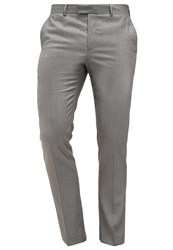 Pier One Suit Trousers Taupe