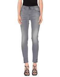 True Religion Denim Denim Trousers Women Grey