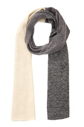Rogue Colorblock Scarf Gray