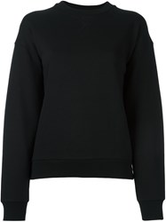 Alexander Wang T By Crew Neck Sweatshirt Black