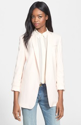 Equipment 'Kadley' Wool Blazer Chalk Pink
