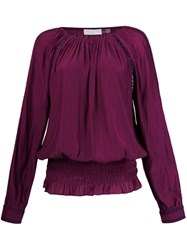 Ramy Brook Tunic Blouse Pink And Purple