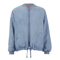 Paul And Joe Sister Women's Cooper Jacket Blue Coral