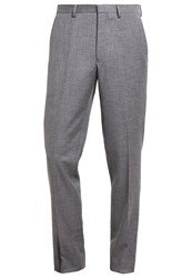 Burton Menswear London Suit Trousers Grey