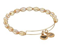 Alex And Ani Retro Glam Serenity Expandable Bangle Mellow Amber Gold Bracelet